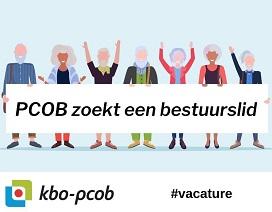 Vacature PCOB-bestuur